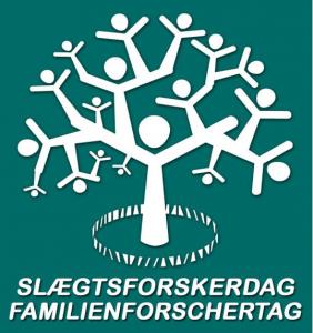 Logo for Slægtsforskerdagen i Flensborg.