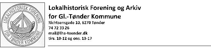 Arkivsamvirket i Tønder Kommune har fået en koordinator