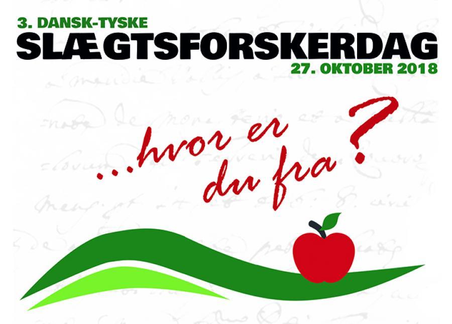 """Kom til Slægtsforskerdag med temaet: """"Hvor er du fra?"""" i Flensborg"""